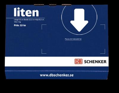 DB Schenker litet paket