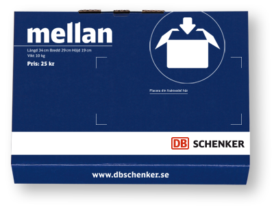 DB Schenker mellanpaket